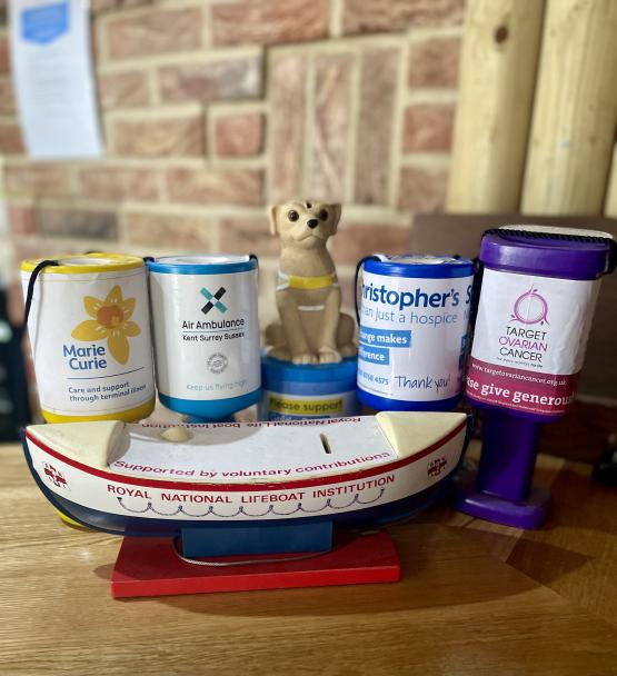 Our Charity Pots